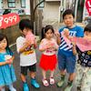先日の鹿児島県イベントにて沢山の子供達がクレープを食べに来てくれましたよ♡ちびっこスマイルヒーローズ登場♪