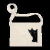 黒猫は見た サコッシュ