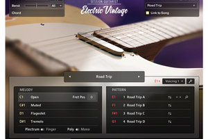NATIVE INSTRUMENTS Session Guitarist Electric Vintage登場。1950年代後半製のエレキギターを自在に演奏