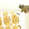 フィンランドより2011年猫柄ファブリックカレンダー