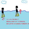 ダイビング潜行のコツ|初心者さんでも沈みやすくなる方法