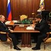 プーチン大統領とチェチェン共和国のラムザン・カディロフが会議