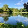 名寄公園の池(北海道名寄)