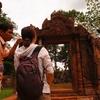 【カンボジア女子一人旅】赤い遺跡「バンテアイスレイ遺跡」!!