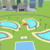 「Aquapark.io」広告でよく見るウォータースライダーのゲームをやってみた。「感想レポ」