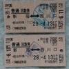 No.20 JR東日本 普通回数券(新宿~西川口/無効印)