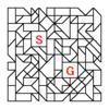 四角渡り迷路:問題19