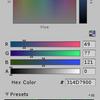 【Unity】色の設定ウィンドウのプリセットに Web セーフカラーを追加するエディタ拡張