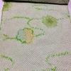 反物(小紋) メロングリーン・総絞り