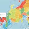 Leaflet地図:「日本酒生産量:都道府県別マップ」作成。サンプルソース。