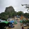 現地ツアーに参加も、1人ではちょっと寂しい。ミヤンマー旅行(パガン)ポッパ山!