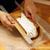 『(表巻き)ロールケーキ』;「割らない」ための【巻き方】・『両端合わせ式成形』