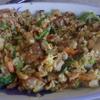 幸運な病のレシピ( 2106 )昼:ゴールデンデラックスチャーハン(五目野菜と焼き肉)