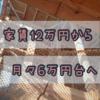 「家賃12万円から月々6万円台へ」という話