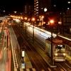 市電が存在する夜景