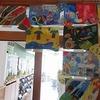 2年生:図工 ひみつのたまご展示
