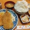 東高円寺【魚源】チキンカツと魚フライ盛り合せ ¥800