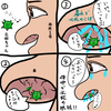 花粉症と戦う