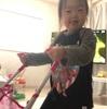 ベビーカー遊びと拒否(3歳1ヶ月)