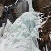 おんたけ2240スキー場と御嶽神社の清滝氷瀑