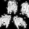 超時空騎団サザンクロス 宇宙機甲隊与圧服〔女性指揮官用〕背部パック