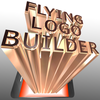 Example of production using animation editing software of [FLYING LOGO BUILDER]