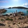 【コミノ島 ブルーラグーン】船が浮かんで見えるほど綺麗な海へツアーで!【マルタ 観光】