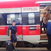 父とのヨーロッパ旅8日目① 〜ローマ - ミラノ間「フレッチャロッサ」〜