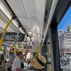 新しい都バスにびっくり。
