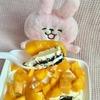 セブのマンゴーでオレオクッキーのケーキを作ってみた(*´▽`*)