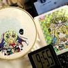 2018年最後の企画 《マギレコ刺繍》アリナが街にやってくる企画「ホリナ(ホーリーアリナ)先輩刺繍キーホルダー」