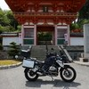 R1200GSで播州清水寺タンデムツーリング