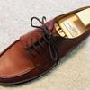 【愛用品】チャーチの靴紐をゴルフに移植。