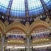 3日目-パリのデパートで買い物(2010年パリ #3)