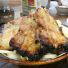 チャーシューのボリュームに驚くバガボンドのつけ麺@鹿児島市山下町