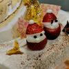 ケーキとジビエ・・・そして牡蠣