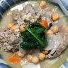 ミンチボール入り野菜スープ