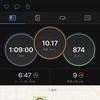 ランニングログ 10/10 依然、好調継続!!今までは高所トレーニングのように、酸素の薄い場所で走っていたかのよう!!