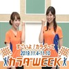 大坪奈津子 CM 2019年11月09日(土)