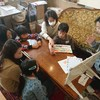 恒例の英会話レッスンと、イベントでお客さんが!✨