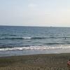 9日土曜午後、波の冴えない茅ヶ崎で軽く1ラウンド