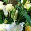 カウンターの花(1)