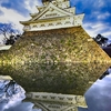 小倉城のライトアップ 北九州市小倉北区