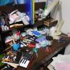 散らかった机の上を綺麗にしよう  二回目!!!