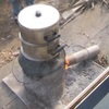 餅米を蒸すために炉に火を起こす方法と近況