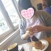 友達とカフェに行きました