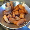 幸運な病のレシピ( 533 )朝:ハラス唐揚げ、塩サバ焼き、ニシンテリテリ