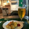 新千歳空港でラストサッポロビール。