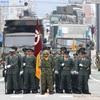飯塚駐屯地 創立50周年記念行事 第2部 自衛隊市中パレード 2016