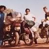 毎日更新 1983年 バックトゥザ 昭和58年8月31日 オーストラリア一周 バイク旅 68日目 23歳 川岸野宿 二輪友人 残金確認 ヤマハXS250  ワーキングホリデー ワーホリ  タイムスリップブログ シンクロ 終活